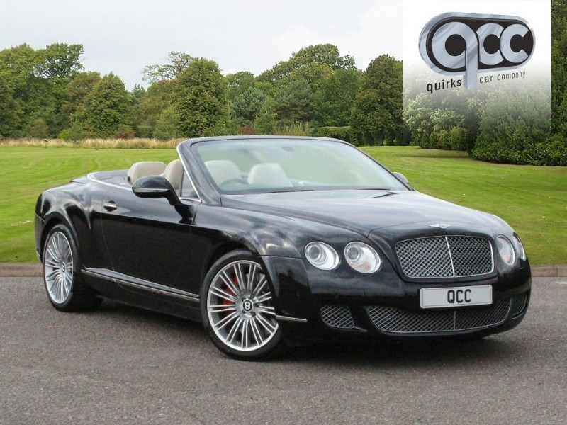 used Bentley Continental GTC SPEED W12 MULLINER DRIVING SPEC in essex-for-sale