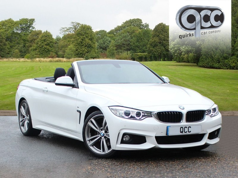 used BMW 420d M SPORT in essex-for-sale