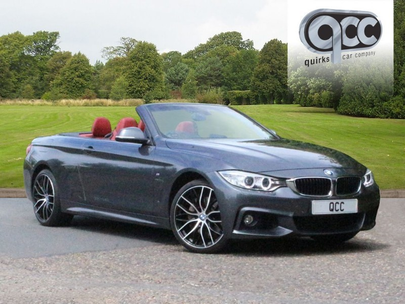used BMW 435d XDRIVE M SPORT CONVERTIBLE AUTO in essex-for-sale