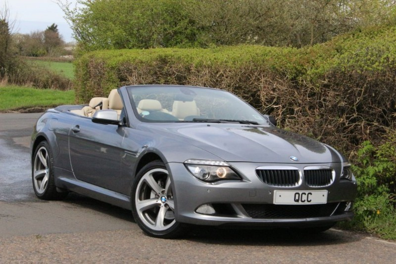 """used BMW 635d SPORT AUTO. SAT NAV, 19"""" ALLOYS. in essex-for-sale"""