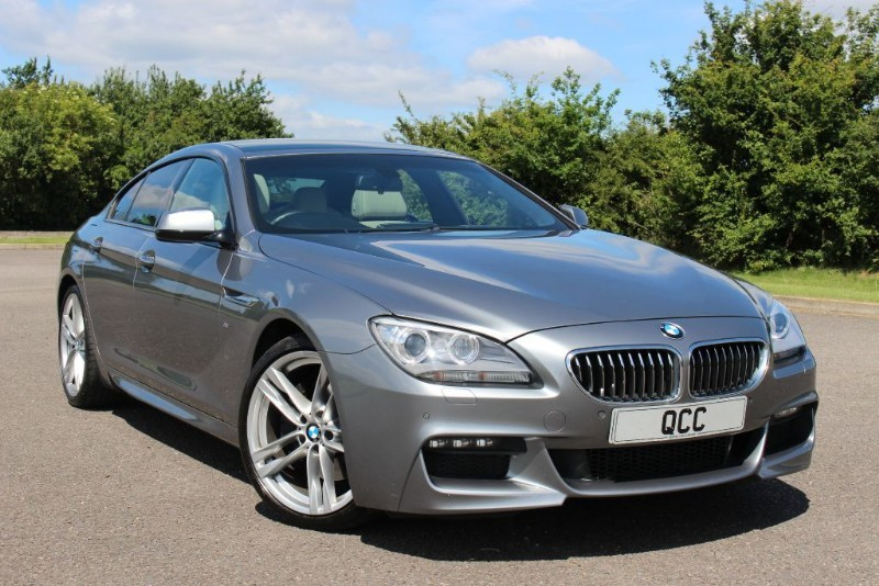 used BMW 640d M SPORT GRAN COUPE in essex-for-sale