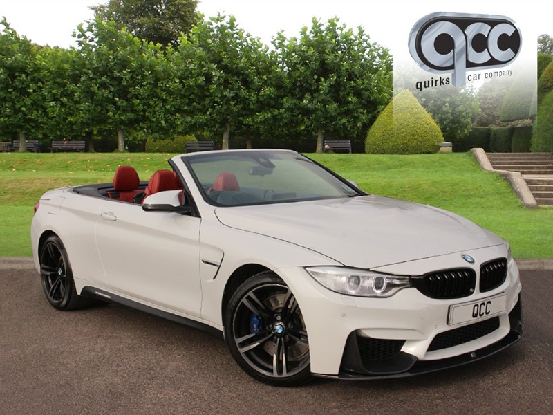 used BMW M4 DCT CONVERTIBLE in essex-for-sale