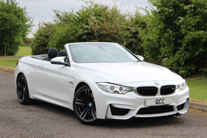used BMW M4 DCT AUTO CONVERTIBLE in essex-for-sale