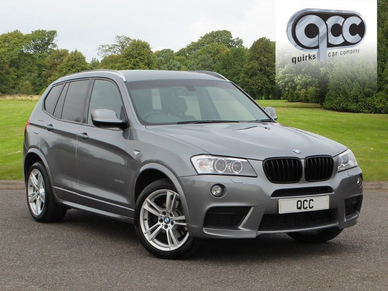 used BMW X3 XDRIVE30D M SPORT in essex-for-sale