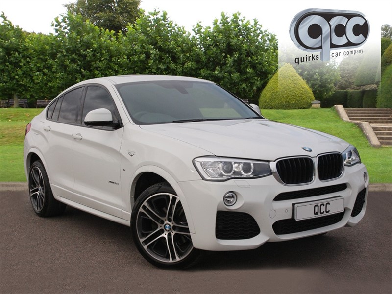 used BMW X4  XDRIVE20D M SPORT in essex-for-sale