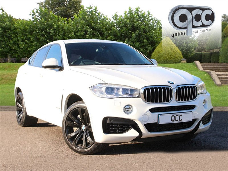 used BMW X6 XDRIVE50I M SPORT in essex-for-sale