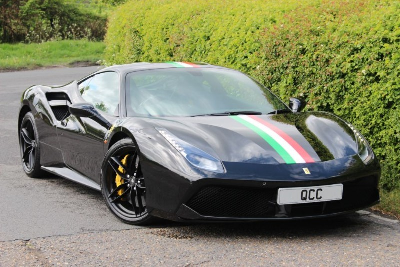 used Ferrari 488 GTB in essex-for-sale