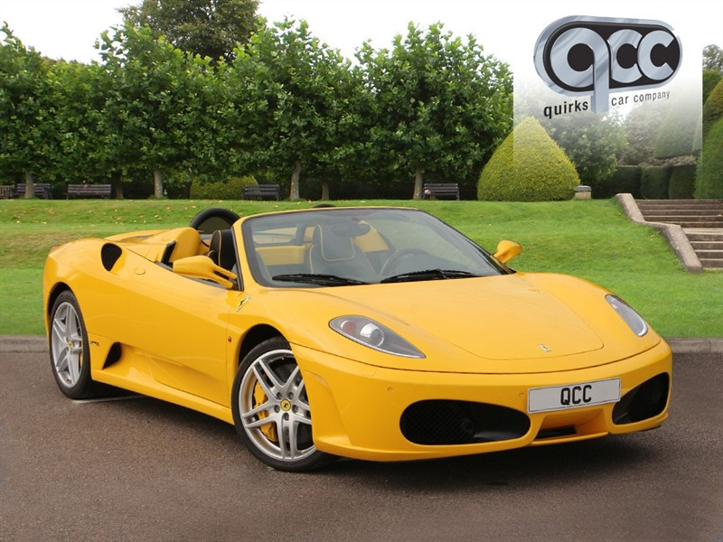 used Ferrari F430 F1 SPIDER LEFT HAND DRIVE in essex-for-sale
