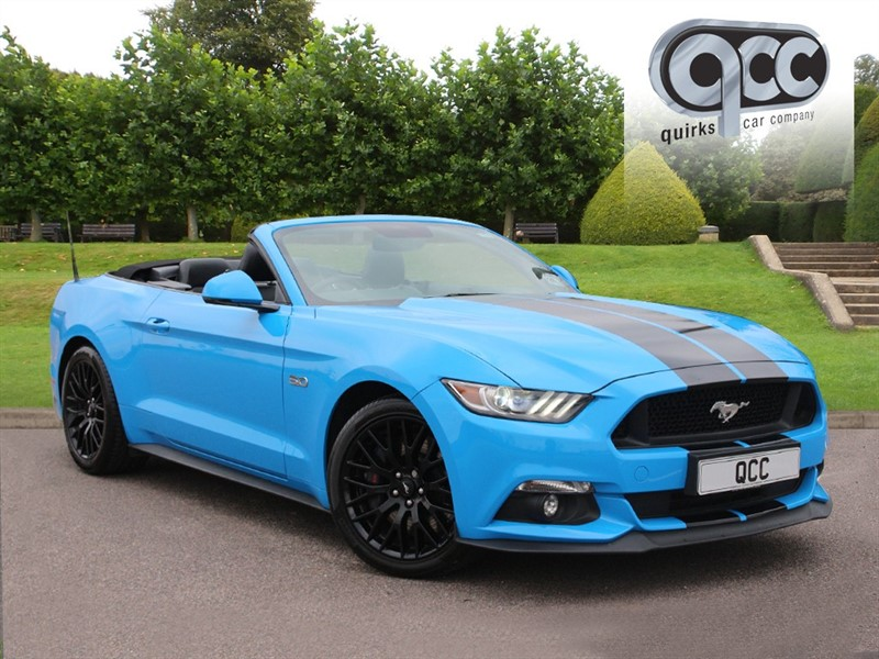 used Ford Mustang GT 5.0 AUTO CONVERTIBLE in essex-for-sale