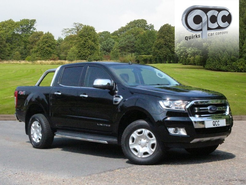 used Ford Ranger LIMITED 4X4 DCB TDCI NO VAT! in essex-for-sale