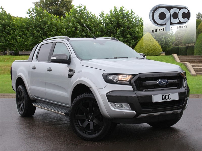 used Ford Ranger WILDTRAK 4X4 DCB TDCI in essex-for-sale