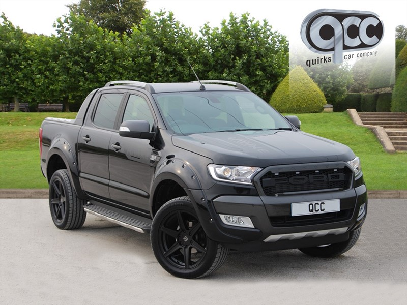 used Ford Ranger 3.2 TDCI WILDTRAK 4x4 HAWKE STEALTH EDITION DCB AUTO in essex-for-sale