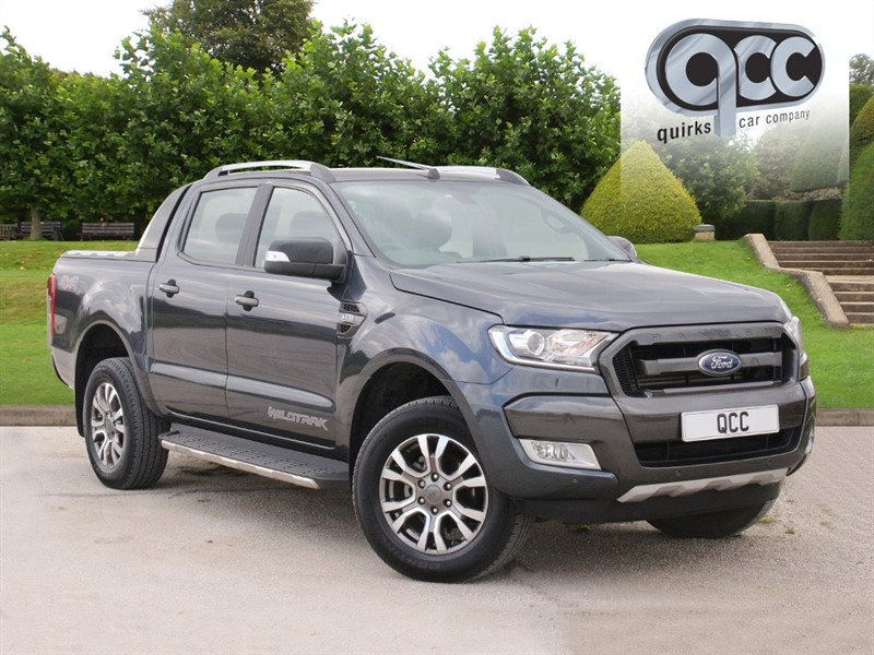 used Ford Ranger 3.2 TDCI WILDTRAK 4x4 DCB AUTO in essex-for-sale