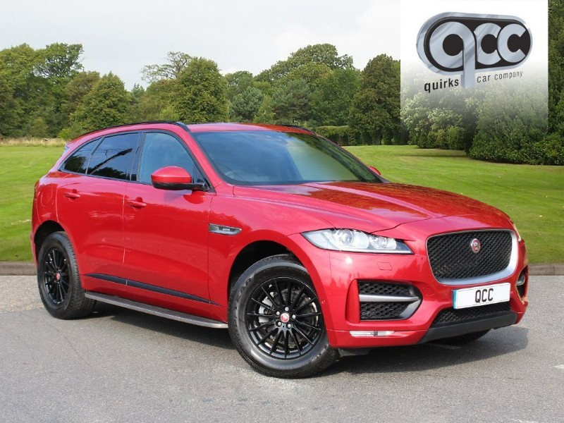 used Jaguar F-Pace 2.0 I R-SPORT AWD in essex-for-sale