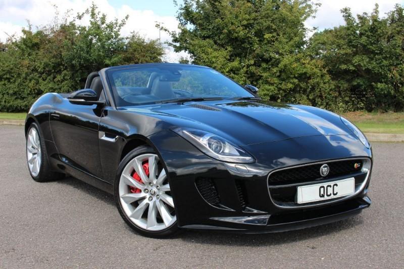 used Jaguar F-Type V6 S QUICKSHIFT 2dr in essex-for-sale