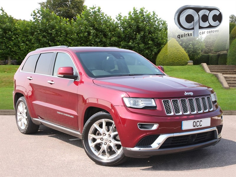 used Jeep Grand Cherokee V6 CRD SUMMIT in essex-for-sale