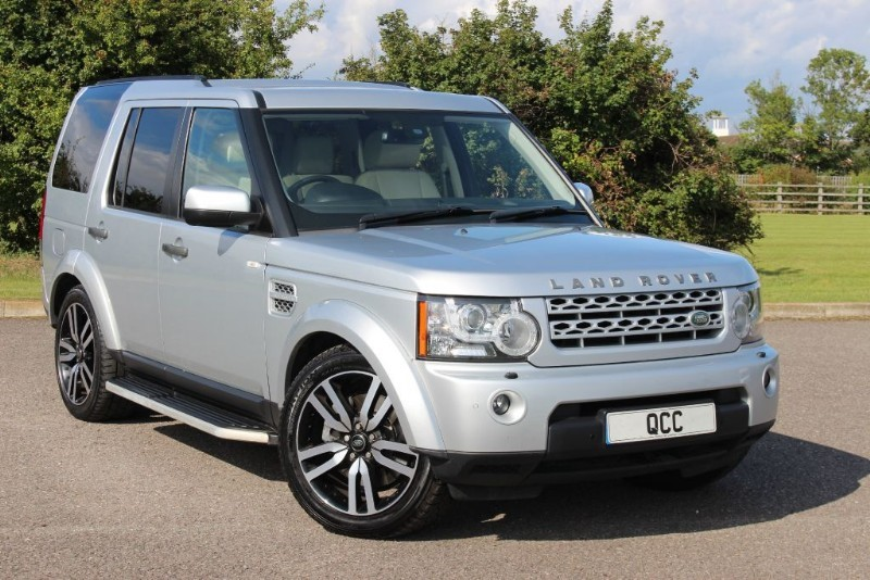 used Land Rover Discovery 4 SDV6 HSE in essex-for-sale