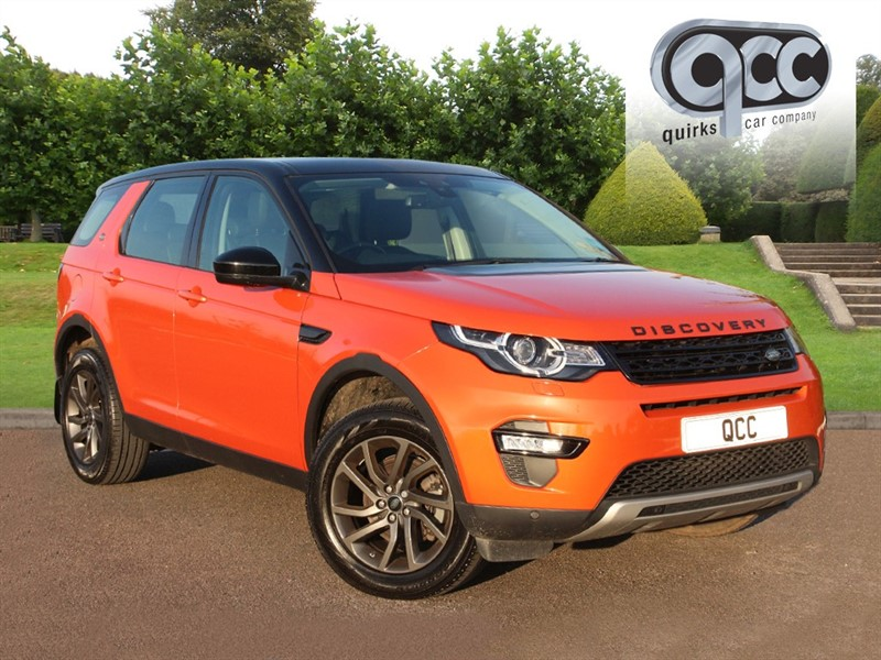 used Land Rover Discovery Sport TD4 HSE in essex-for-sale
