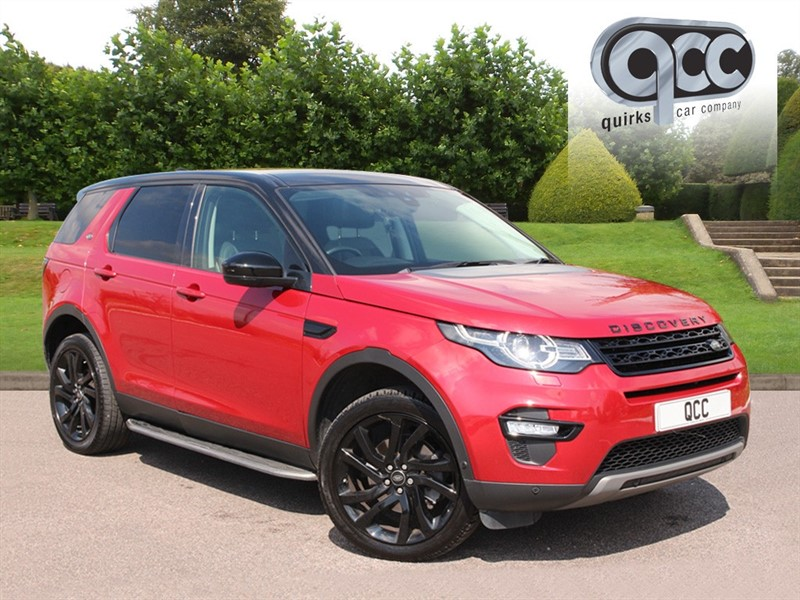 used Land Rover Discovery Sport 2.0 TD4 HSE LUXURY in essex-for-sale