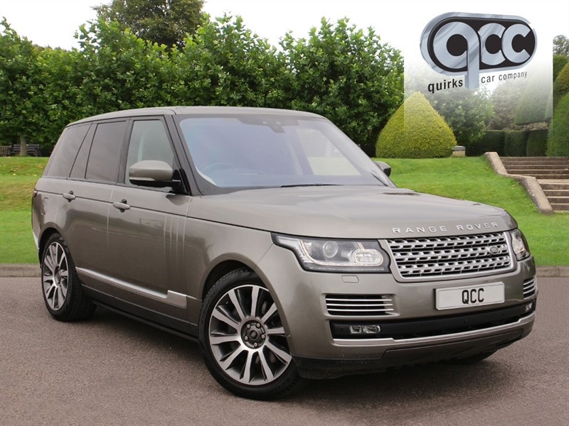 used Land Rover Range Rover 4.4 SDV8 AUTOBIOGRAPHY in essex-for-sale