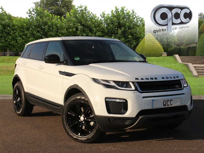 used Land Rover Range Rover Evoque TD4 SE TECH in essex-for-sale