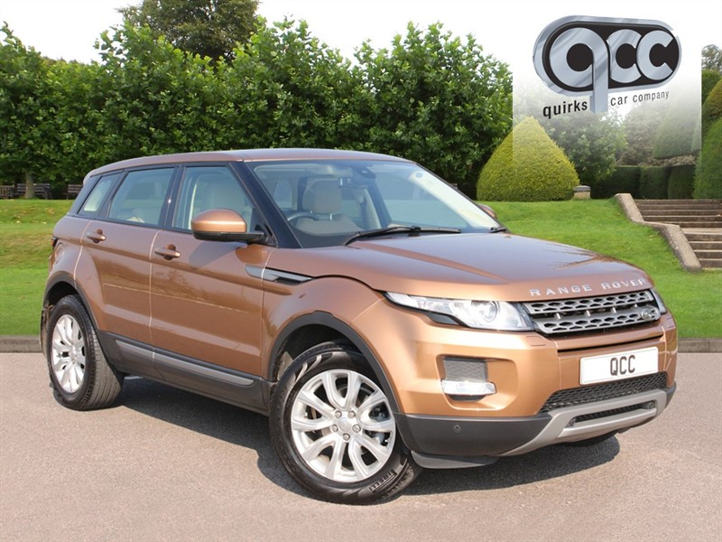 used Land Rover Range Rover Evoque 2.2 SD4 PURE TECH in essex-for-sale