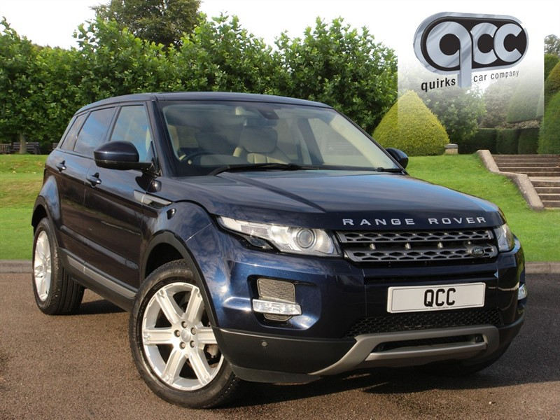 used Land Rover Range Rover Evoque SD4 PURE TECH in essex-for-sale
