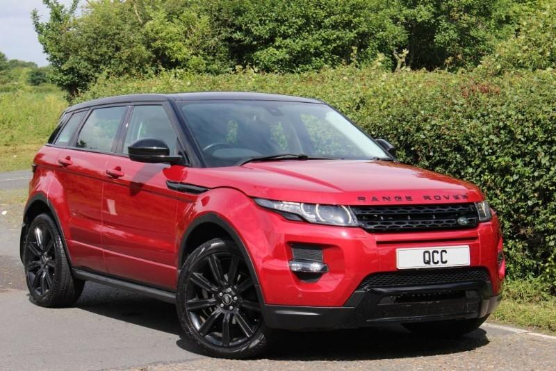 Land Rover Range Rover Evoque Sd4 Dynamic 5 Door Auto Black Pack