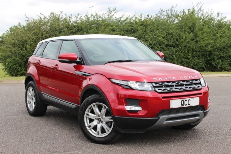 used Land Rover Range Rover Evoque SD4 PURE TECH PACK in essex-for-sale