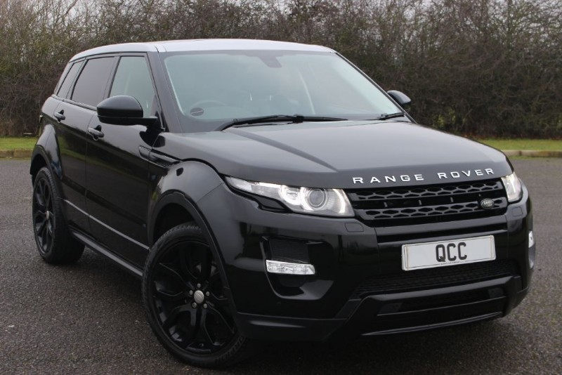 used Land Rover Range Rover Evoque SD4 DYNAMIC BLACK PACK in essex-for-sale