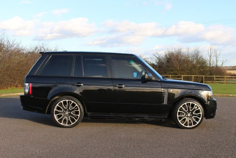 used Land Rover Range Rover TDV8 WESTMINSTER OVERFINCH GT AERO BODY STYLING KIT in essex-for-sale