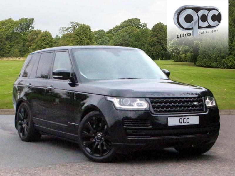 be46e6a42eb07 Land Rover Range Rover 4.4 SDV8 VOGUE SE BLACK PACK   Quirks Car Company