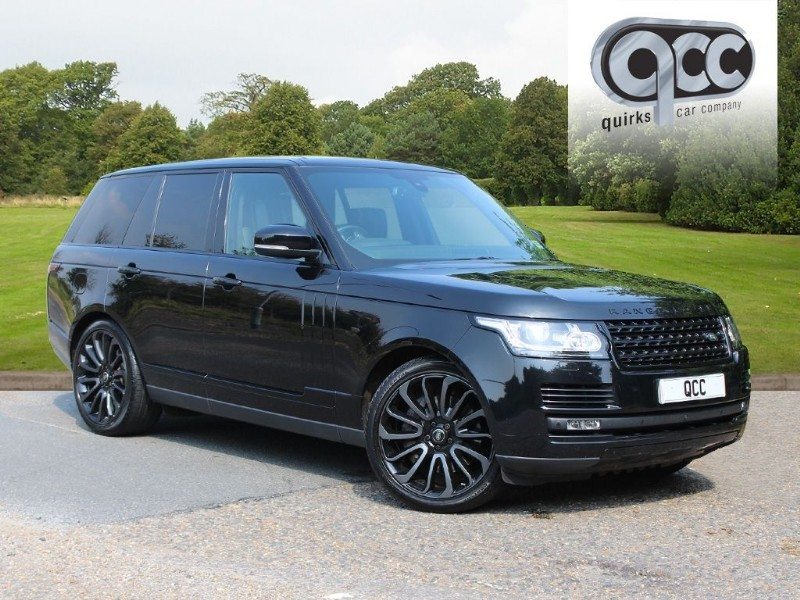 used Land Rover Range Rover 4.4 SDV8 AUTOBIOGRAPHY BLACK PACK in essex-for-sale