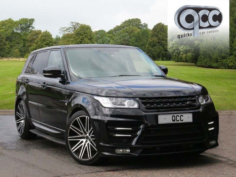 used Land Rover Range Rover Sport 3.0D HSE AUTO. EVOLVED CONVERSION. in essex-for-sale