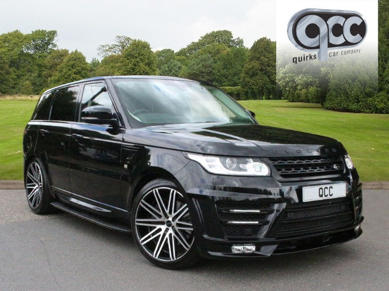 used Land Rover Range Rover Sport 3.0 SDV6 HSE AUTO EVOLVED CONVERSION in essex-for-sale