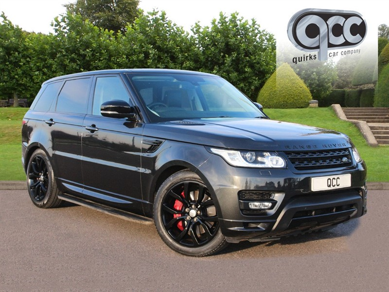 used Land Rover Range Rover Sport 3.0 SDV6 AUTOBIOGRAPHY DYNAMIC 7 SEATS in essex-for-sale
