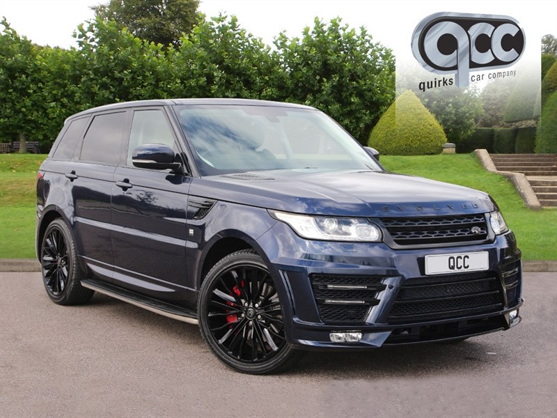used Land Rover Range Rover Sport 3.0 SDV6 HSE RRS 3 EVOLVED CONVERSION 306 BHP in essex-for-sale