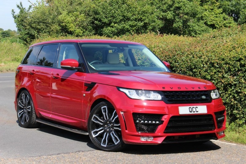 used Land Rover Range Rover Sport SDV6 HSE EVOLVED RRS 1 CONVERSION in essex-for-sale