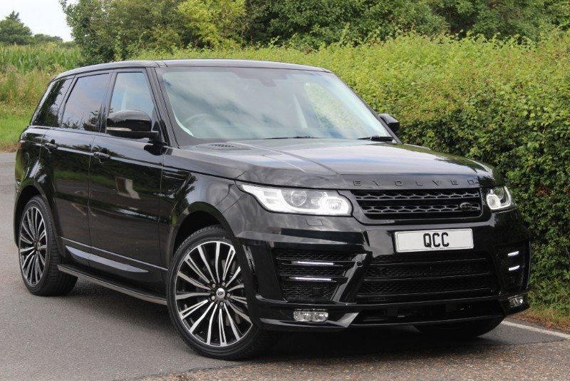 used Land Rover Range Rover Sport SDV6 HSE EVOLVED RRS 3 CONVERSION in essex-for-sale