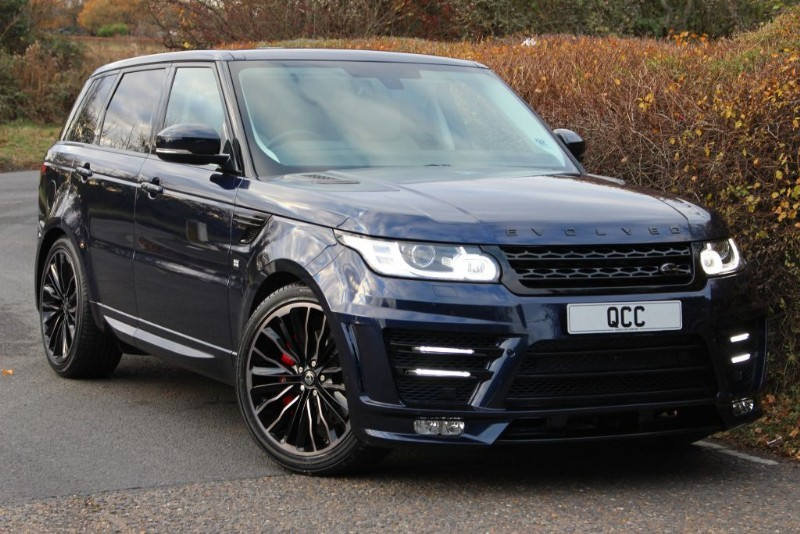 used Land Rover Range Rover Sport SDV6 HSE RRS 3 EVOLVED CONVERSION 306 BHP in essex-for-sale