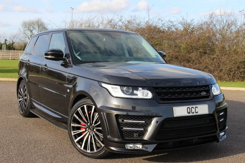 used Land Rover Range Rover Sport SDV6 HSE RRS 3 EVOLVED CONVERSION in essex-for-sale