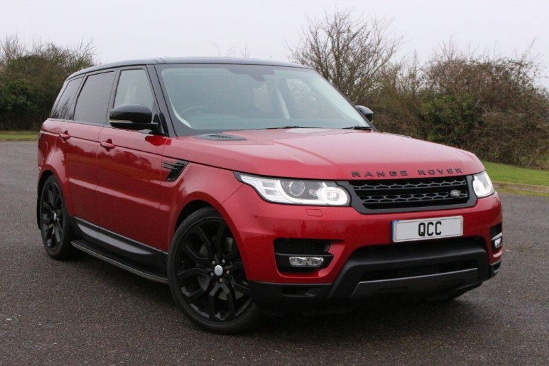 used Land Rover Range Rover Sport SDV6 HSE DYNAMIC BLACK STEALTH PACK 306 BHP in essex-for-sale