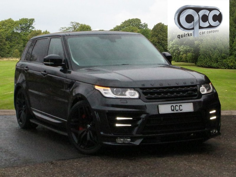 used Land Rover Range Rover Sport SDV6 HSE 306 BHP EVOLVED RRS 3 BODY STYLING in essex-for-sale