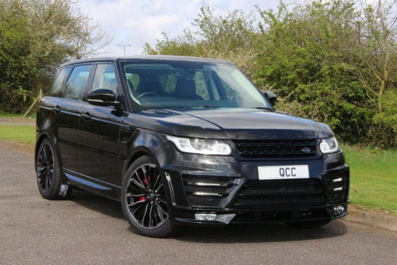 used Land Rover Range Rover Sport SDV6 HSE EVOLVED RRS3 CONVERSION BODY STYLING in essex-for-sale