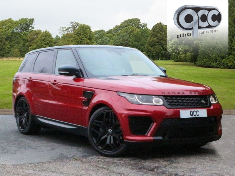 used Land Rover Range Rover Sport SDV6 HSE DYNAMIC FULL SVR BODY STYLING in essex-for-sale
