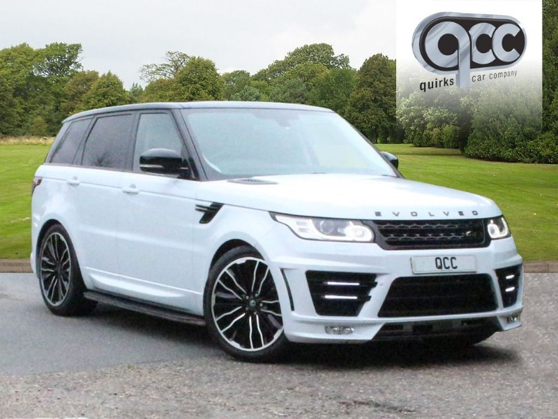 used Land Rover Range Rover Sport 3.0 SDV6 HSE LATER 306 BHP MODEL EVOLVED RRS 3 CONVERSION in essex-for-sale