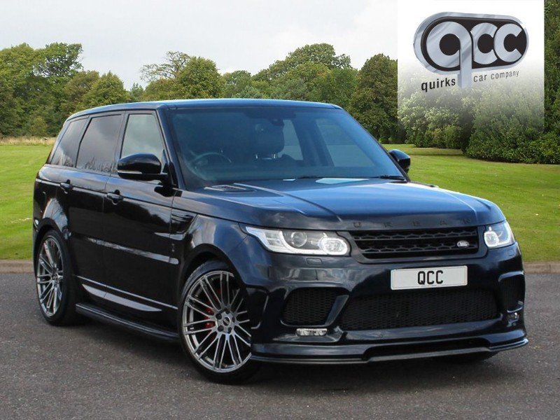 used Land Rover Range Rover Sport SDV6 HSE URBAN AUTOMOTIVE  in essex-for-sale