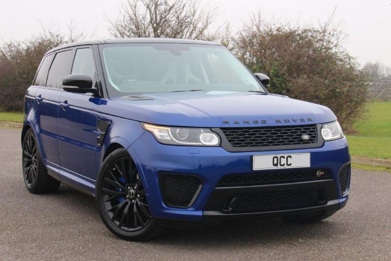 used Land Rover Range Rover Sport SVR V8  in essex-for-sale