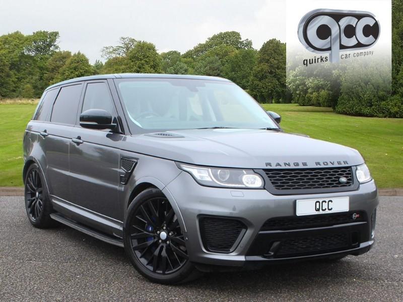 used Land Rover Range Rover Sport 5.0 V8 SVR SUPERCHARGED SVR AUTO BLACK STEALTH PACK in essex-for-sale