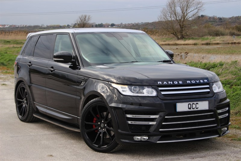 used Land Rover Range Rover Sport 3.0 SUPERCHARGED HSE AUTO in essex-for-sale